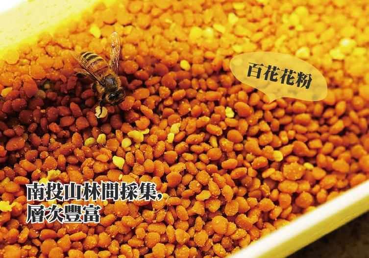 達摩蜂蜜:百花花粉